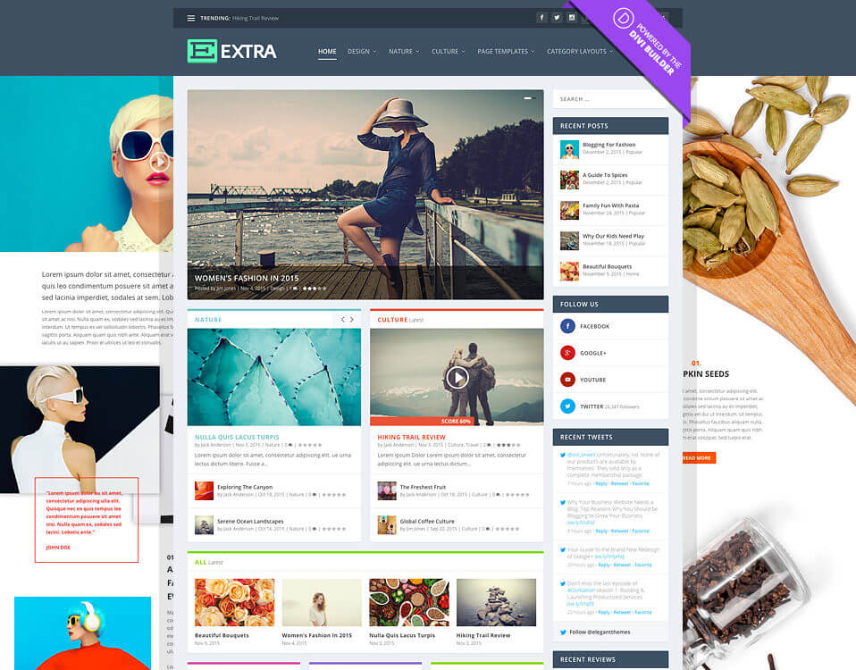 5 Best WordPress Blog Themes For Corporate, Personal, Fashion, Travel, Photoblogging And More – 2017