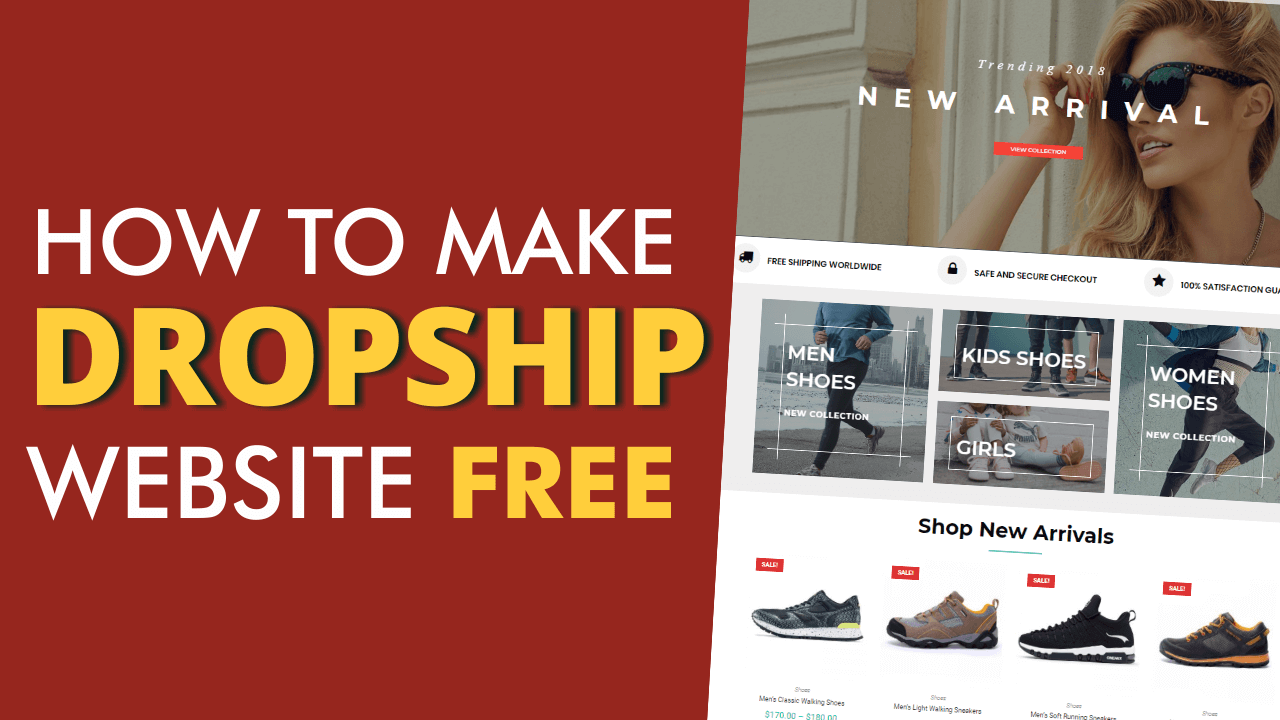 FREE DropShipping Website with WordPress, DropshipMe, AliExpress & WooCommerce- AliDropship Tutorial