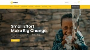 How to Make a Charity and a Fundraising Website for Organisations & NGOs with WordPress Kunco Theme