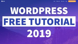 How to Make a WordPress Website for FREE! 2019 – Elementor for Beginners